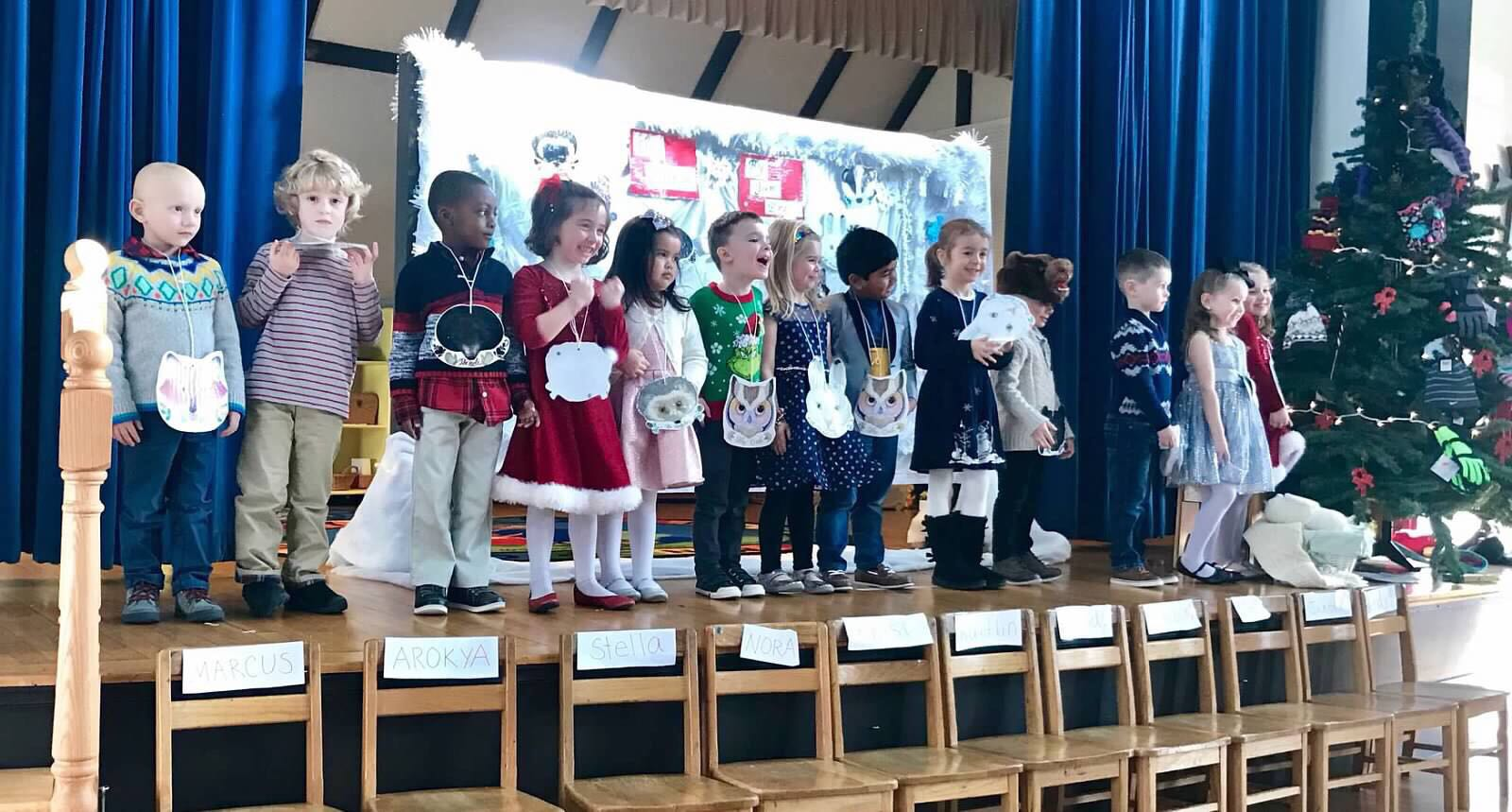 "Our Pre-K Play ""The Mitten"""